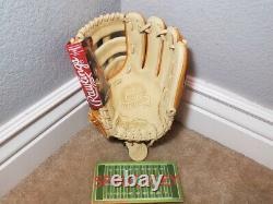 Rawlings Pro Préféré 11,5 Infield Gants De Baseball, Pros204-6ct, Nwt, Rht
