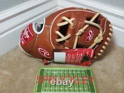 Rawlings Pro Préféré 11,5 Infield Gants De Baseball, Pros314-2br, Nwt, Rht