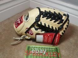 Rawlings Pro Preferred 11.5 Gants De Baseball, Pros204-4c, Nwt, Rht, J. Hardy