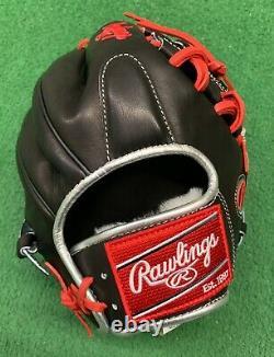 Rawlings Pro Preferred 11.75 Francisco Lindor Platinum Infield Glove Prosfl12b