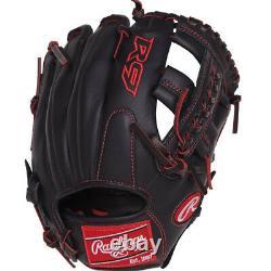 Rawlings R9 11 Gants De Baseball Pour Jeunes Infield R9ypt1-19b Pro Taper Fit
