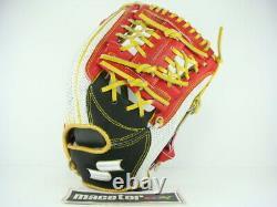 Ssk Special Pro Order 11.75 Infield Baseball Gants Blanc Noir Rouge H-web Rht