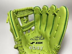 Ssk Special Pro Order 12 Infield Baseball / Softball Gant Light Green Rht Rare