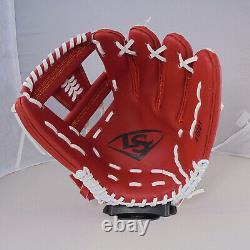 Tpx Pro 12 Leather Red Infield I Gants De Baseball À Main Droite Sur Le Web
