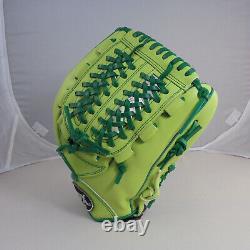 Tpx Pro 12 Mustard Greens Infield Net T Gants De Baseball À Main Droite Du Web