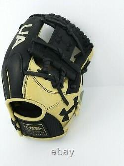 Under Armour Genuine Pro Fielding Baseball Glove (11.5) Uafggp-1150i-bk/cr Rh