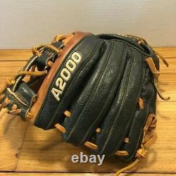 Wilson A2000 1788 11.25 Pro Stock I Gants De Baseball Web Broken In Black Brown