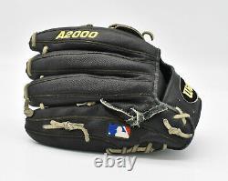 Wilson Pro Stock A2000 Dw5 12 Infielders Gants De Baseball Noir/gray Rht