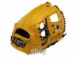 Zett Pro Modèle 11.25 Pouces Tan Baseball Infielder Gant